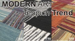 Modern Art Teppich Design