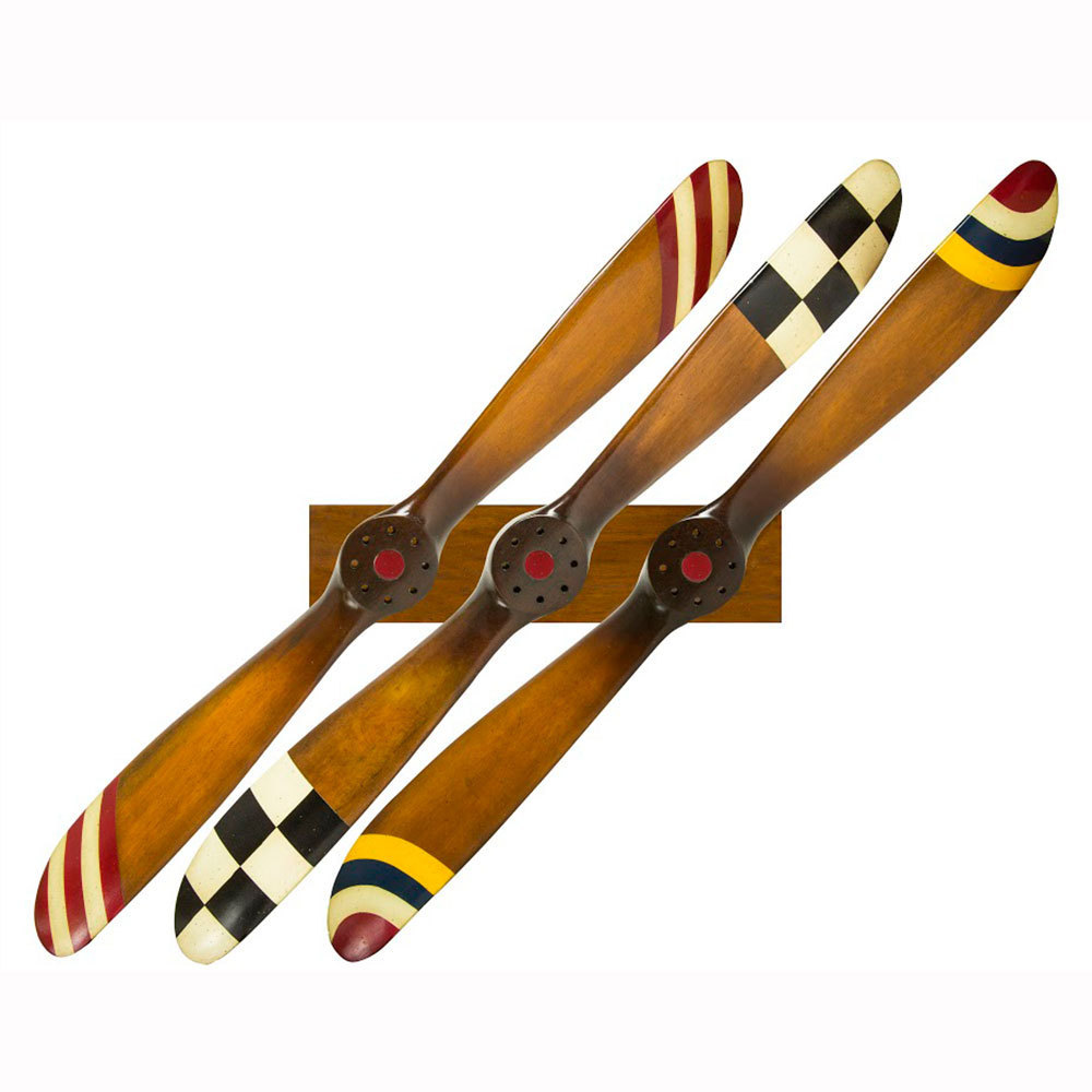 Propeller 3er Set mit Rack
